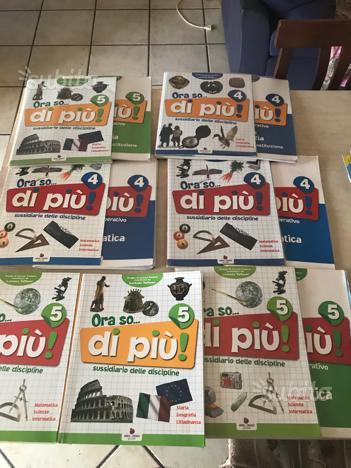 Libri elementari scuola De Luca piccione caravita