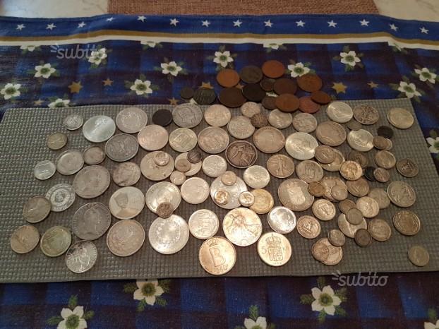 Vendita lotto d monete prevalentemente di ARGENTO