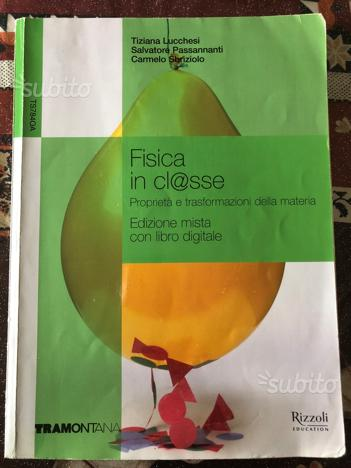 FISICA in clsse ed. Tramontana/Rizzoli