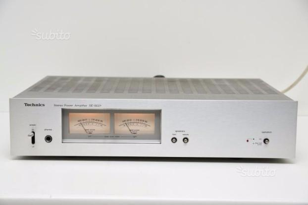 Amplificatore Finale Technics SE-9021