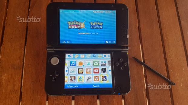 Nintendo 3ds xl Grigio con 150 giochi e fotocamera
