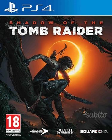 Shadow of Tomb raider Ps4 E CROFT EDITION NUOVO