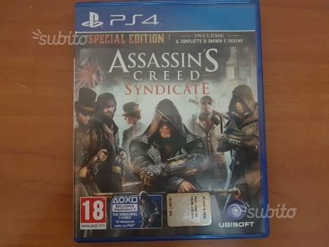 Assassin's Creed Syndycate e Black Flag Ps4