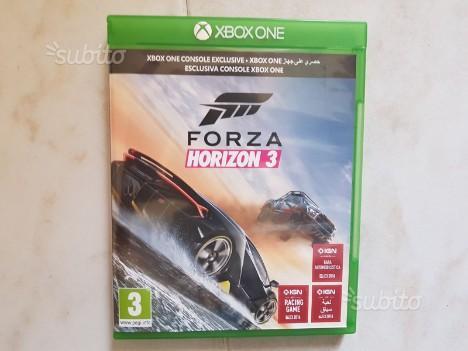 Forza horizon 3 e Forza motorsport 6 Xbox one