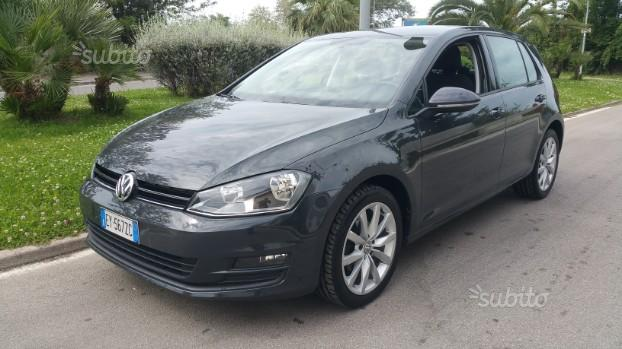 VOLKSWAGEN GOLF 1.6 TDI 90 Cv BLUEMOTION 03/2015