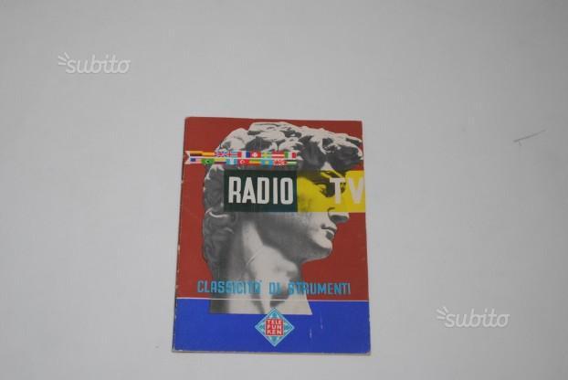 Telefunken catalogo produzione 1955/56