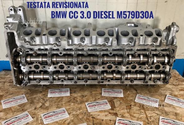 Testata revisionata completa bmw 3.0 diesel
