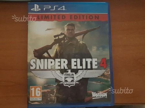 Sniper elite 4 Ps4 SEMINUOVO