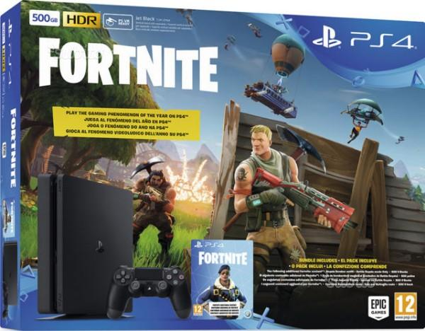Sony ps4 slim 500 gb nuova   fortnite ( negozio )