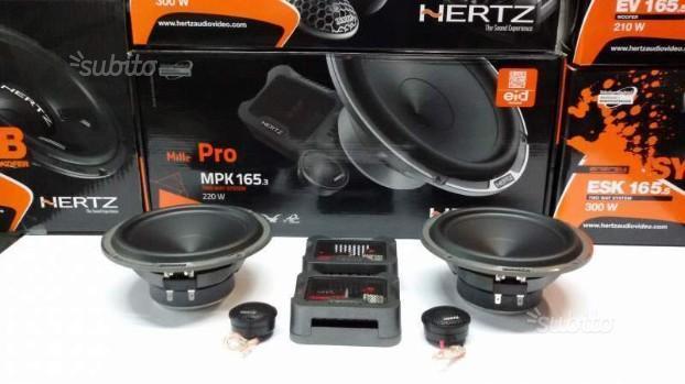 HERTZ serie MILLE PRO MPK 165.3 kit due vie da 165
