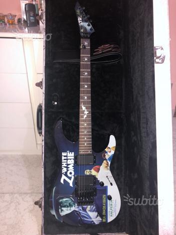 Ltd White Zombie signature Kirk Hammett