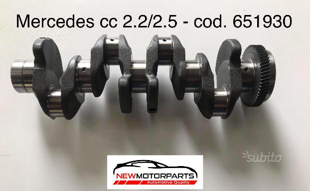 Albero motore nuovo Mercedes cc 2.2/2.5