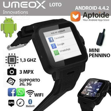 Umeox loto smart watch android whatsapp tracker ma