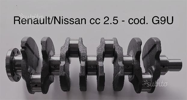 Albero motore nuovo renault nissan 2.5 G9U