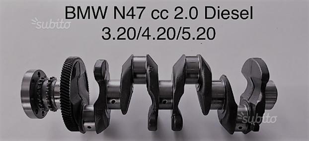Albero motore nuovo Bmw N47 cc 2.0 diesel