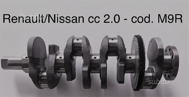 Albero motore nuovo nissan renault 2.0 M9R
