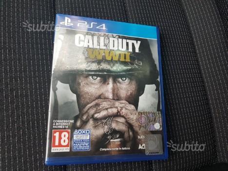 Call of duty WWII e Infinite warfare Ps4 SEMINUOVO