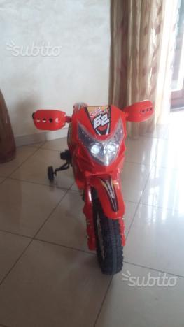 Motocross elettrico per bambini