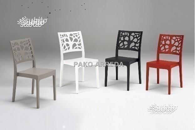 Sedia / sedie corallo