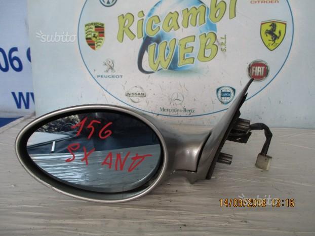 Alfa romeo 156 specchio sx elettric grigio argento