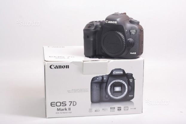 Fotocamera digitale reflex canon eos 7d mark 2