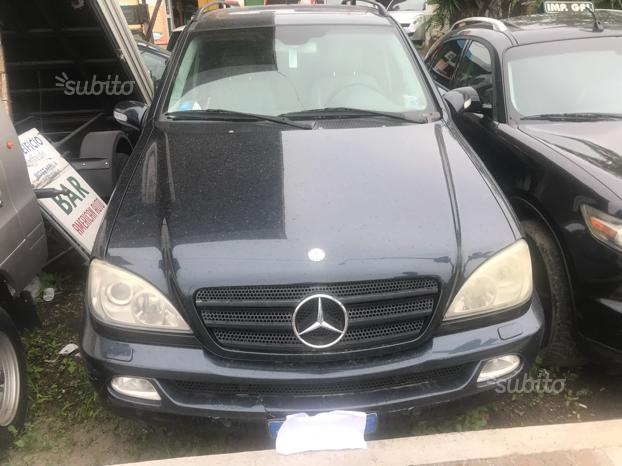 Mercedes ml 270 cdi anno 2004