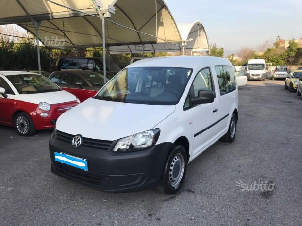 VW Caddy 1.6 Tdi N1 5 Posti Anno 2013 Km 100000