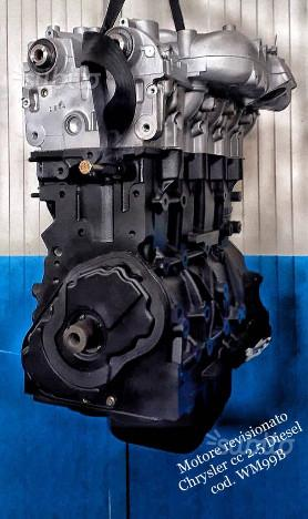 Motore rev chrysler cc 2.5 codice WM99B