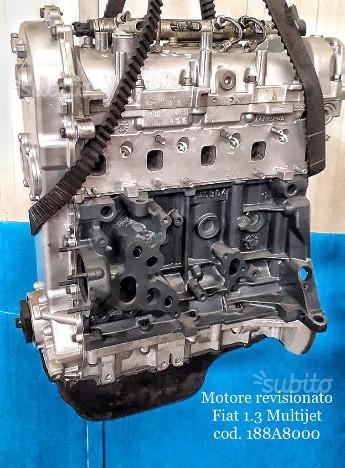 Motore revisionato fiat 1.3 multijet cod.188a8000