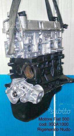 Motore revisionato nudo fiat 500 cod. 950a1000