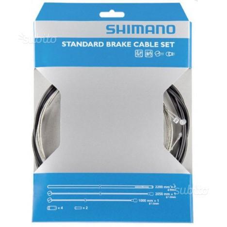 Kit cavi freni standard SHIMANO + guaina terminali