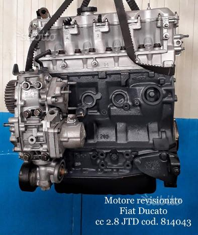 Motore revisionato fiat ducato cc 2.8 jtd