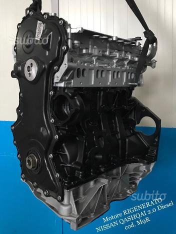 Motore revisionato nissan qashqai 2.0 diesel m9r