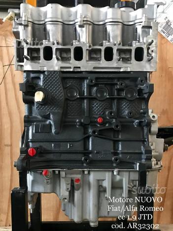 Motore nuovo fiat alfa romeo cc 1.9 jtd