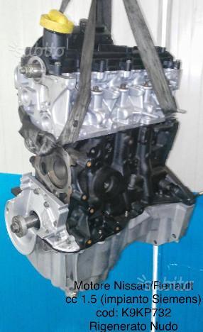 Motore revisionato nissan renault cc 1.5 K9K