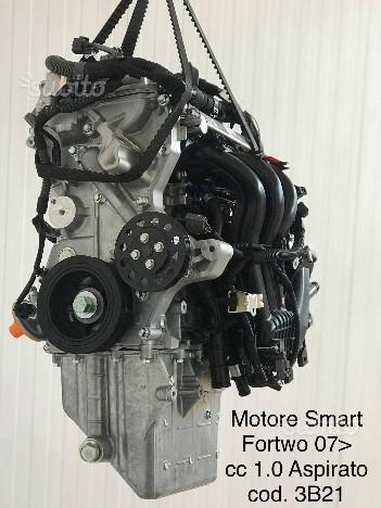 Motore Smart cc 1.0 Aspirato Nuovo Originale