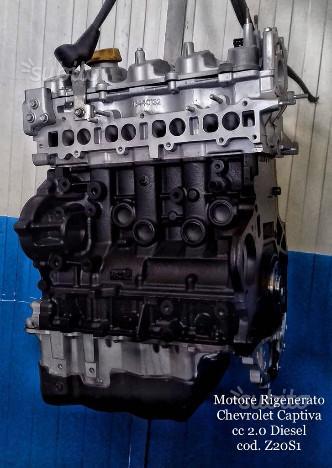 Motore rigenerato chevrolet captiva cc 2.0 diesel