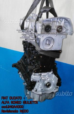 Motore revisionato fiat alfa romeo