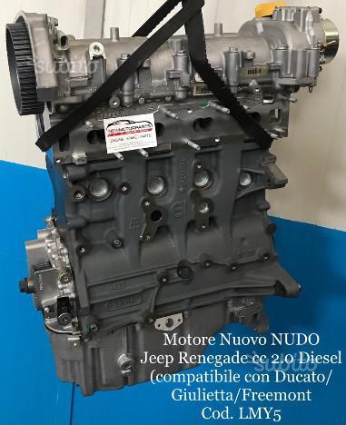 Motore nuovo jeep fiat alfa romeo cc 2.0 diesel