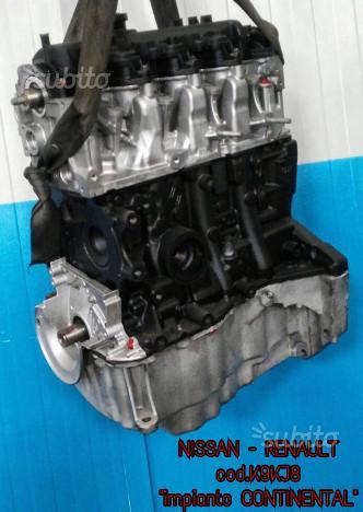 Motore revisionato nissan renault k9kj8