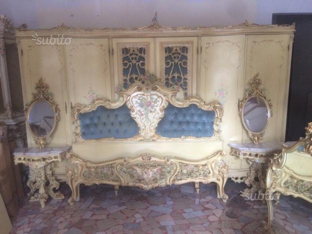 Camera da letto in stile barocco veneziano