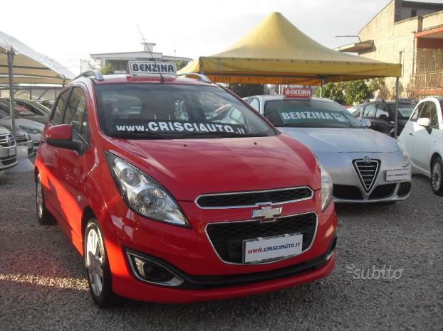 Chevrolet spark 1200 benzina km certificati 2013