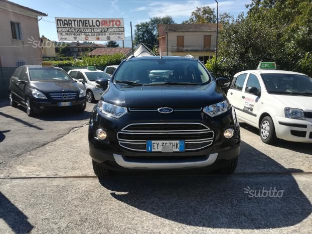 Ford EcoSport 1.5 TDCi 90cv 2015 km certificati