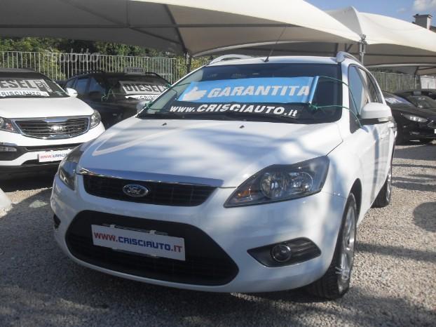 Ford focus 1600 tdci sw km certificati 2010
