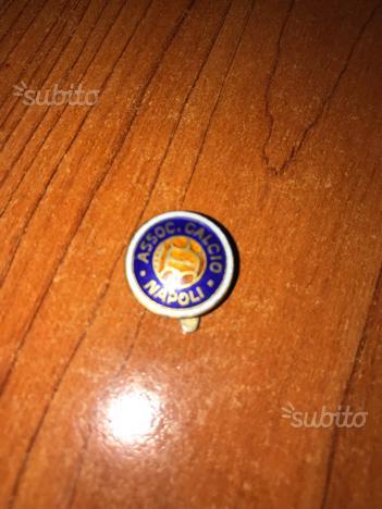 Prima spilla associazione calcio Napoli