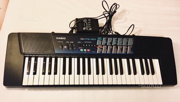 Tastiera CASIO CTK 120 pianola