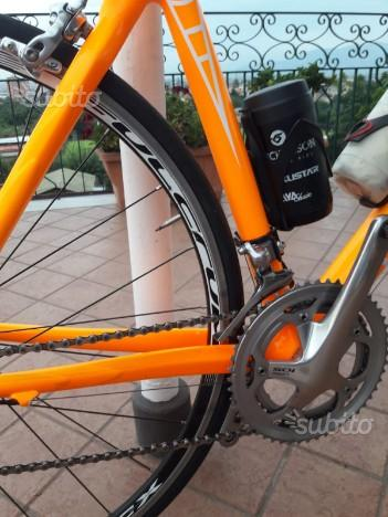 Bici corsa bottecchia più Polar e ruote