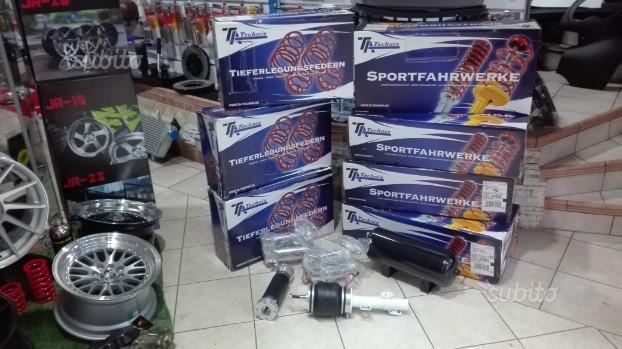 Assetti sportivi, molle, ghiera, airride