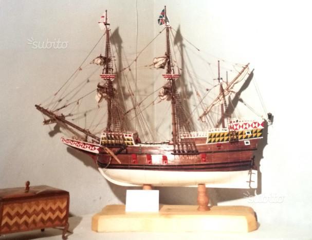 Nave inglese MAYFLOWER in legno - Modello statico