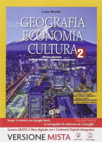 Geografia Economia Cultura 2 9788824741705